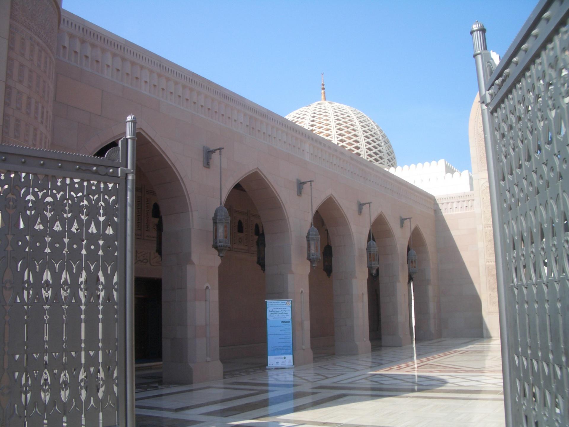 オマーン マスカット モスク