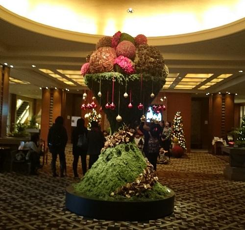 帝国ホテル クリスマスツリー