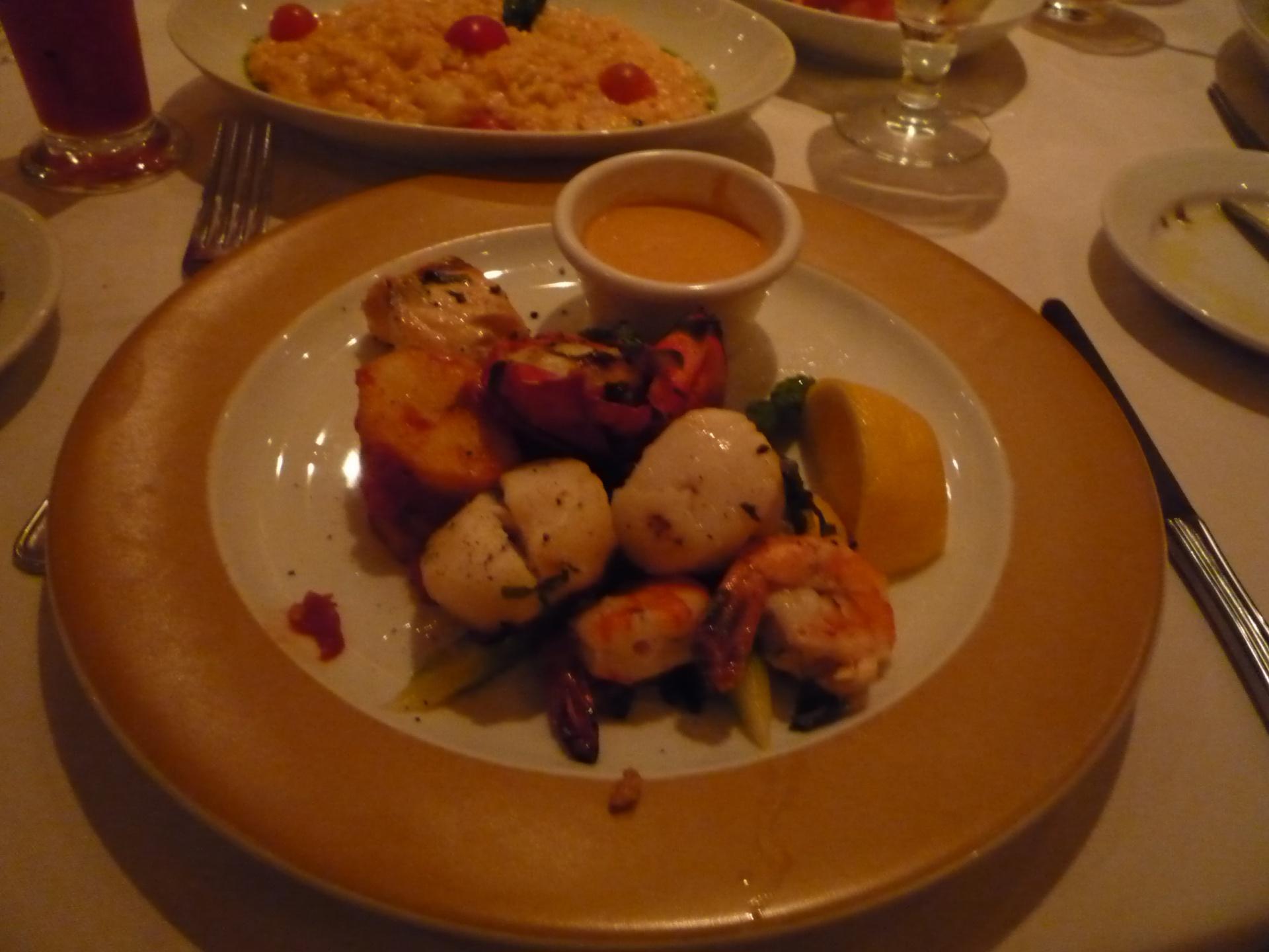 ボイジャー オブ ザ シーズ イタリアンレストラン
