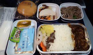 広州-関空 CZ航空 機内食
