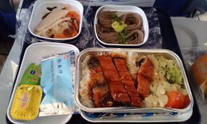 中国南方航空 393便 エコノミー機内食