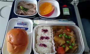 中国南方航空 関空-広州 機内食