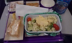 中国南方航空 エコノミークラス パスタ料理