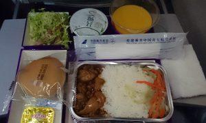 武漢-モスクワ エコノミー機内食
