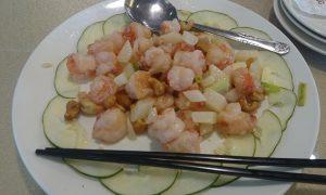 台湾料理 エビの塩炒め