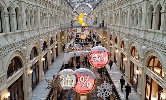 グム百貨店 モスクワ