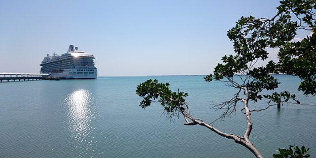 オーシャニア マリーナ ベリーズ港