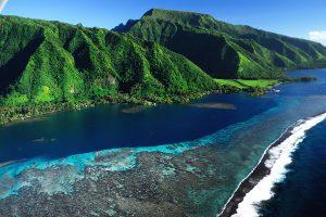 タヒチ モーレア島
