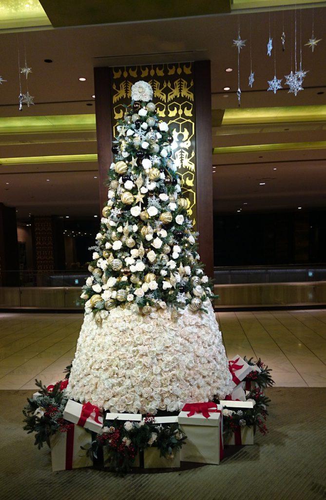 ロイヤルホテル クリスマスツリー