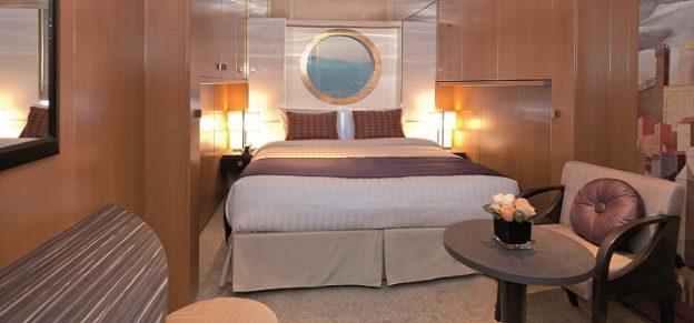 コスタネオロマンチカ 海側客室