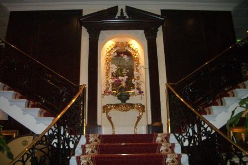 ロイヤルプリンセス タイタニック階段