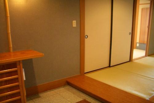 京近江 客室玄関