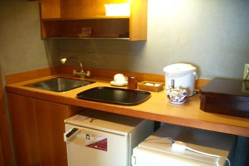 京近江 客室簡易台所