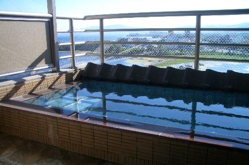 京近江 露天風呂