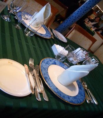 にっぽん丸 テーブルコーディネート