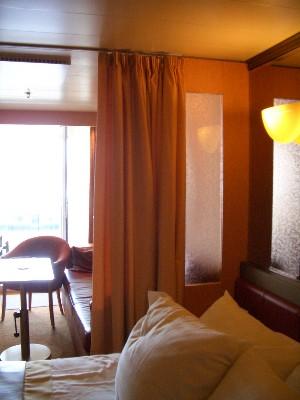 Verandah Suite ベッドルーム