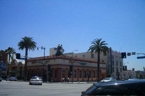 アメリカ西海岸 ハリウッド