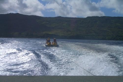 グアム バナナボート