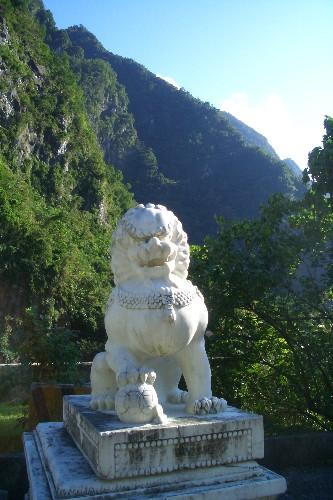 太魯閣渓谷 狛犬