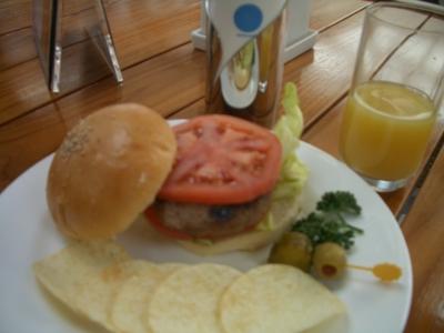 にっぽん丸 ハンバーガー