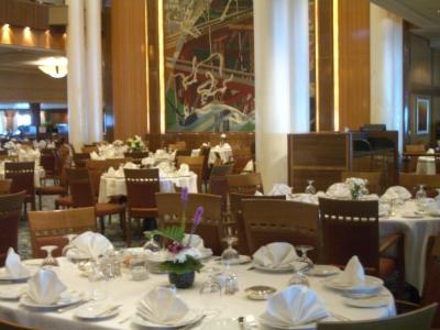 クイーンメリー2 ブリタニアレストラン