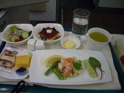 ガルーダ インドネシア航空 機内食