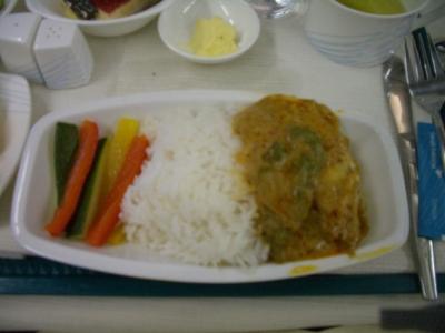 インドネシア航空 ビジネスクラス 機内食