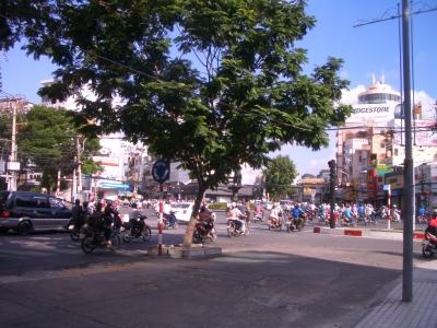 サイゴン 朝の風景