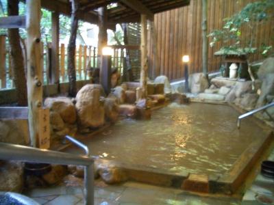 月光園 露天風呂