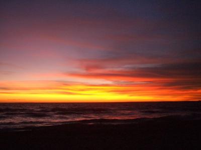 フーコック島 夕陽
