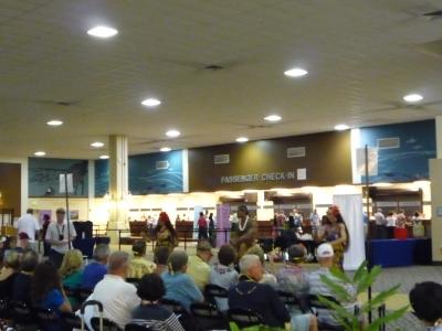 ホノルル港 チェックインターミナル