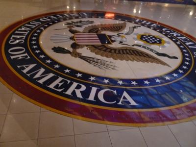 プライドオブアメリカ レセプション 星条旗