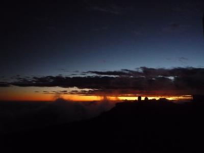 ハレアカラの夕日