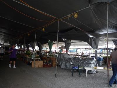 ハワイ島 ヒロの市場
