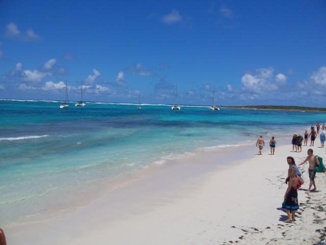 セントマーチン島 ビーチ