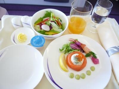 チャイナエアライン 機内食 前菜