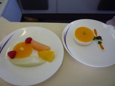 チャイナエアライン 機内食