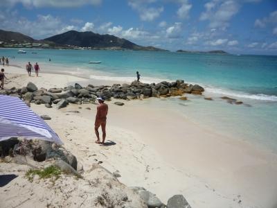 セントマーチン島 ヌーディスト・ビーチ