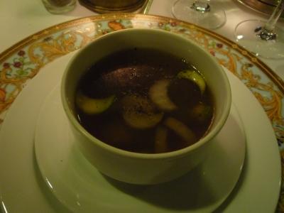 メインレストラン スープ