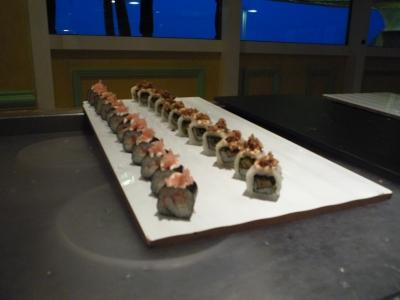 オーシャニアクルーズ 寿司