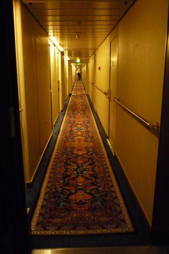 オーシャニア・ノーティカ 客室廊下