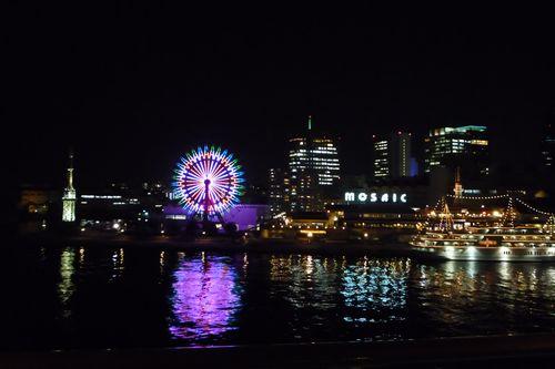 神戸 モザイクガーデン夜景